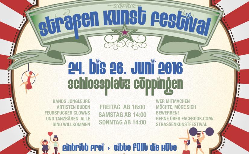 1. Göppinger Straßenkunstfestival.